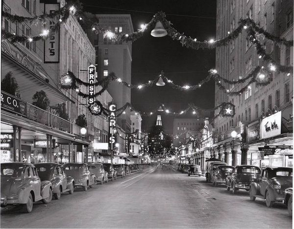 Back When Downtowns REALLY Decorated for Christmas (15 Photos) - Old Photo Archive - Vintage Photos and Historical Photos