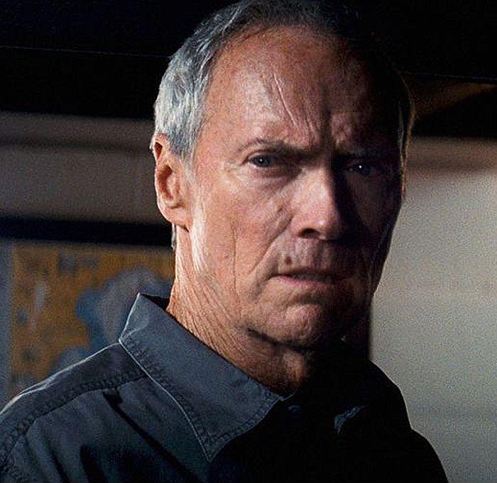 "Clint Eastwood en ""Gran Torino"", 2008"