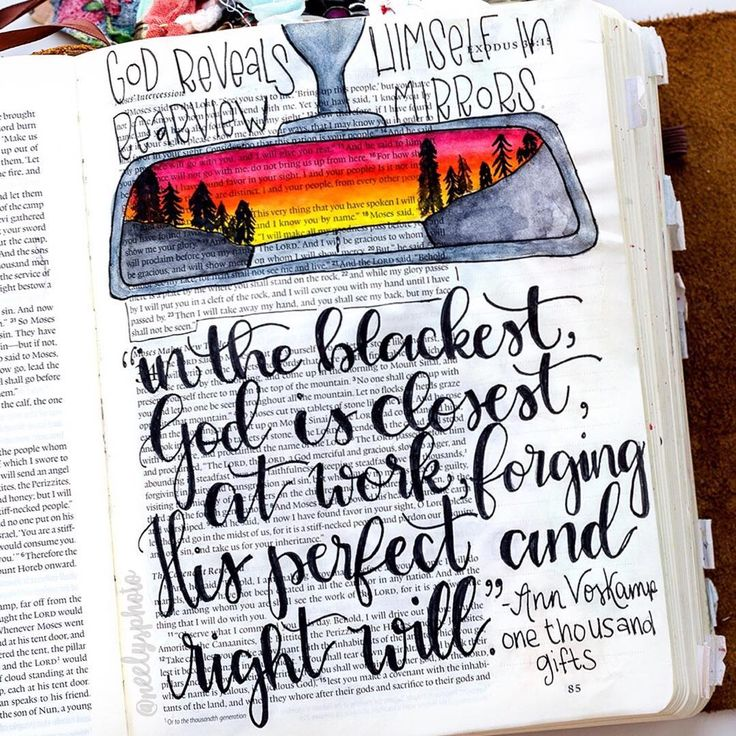 Bible Journaling by @neelysphoto