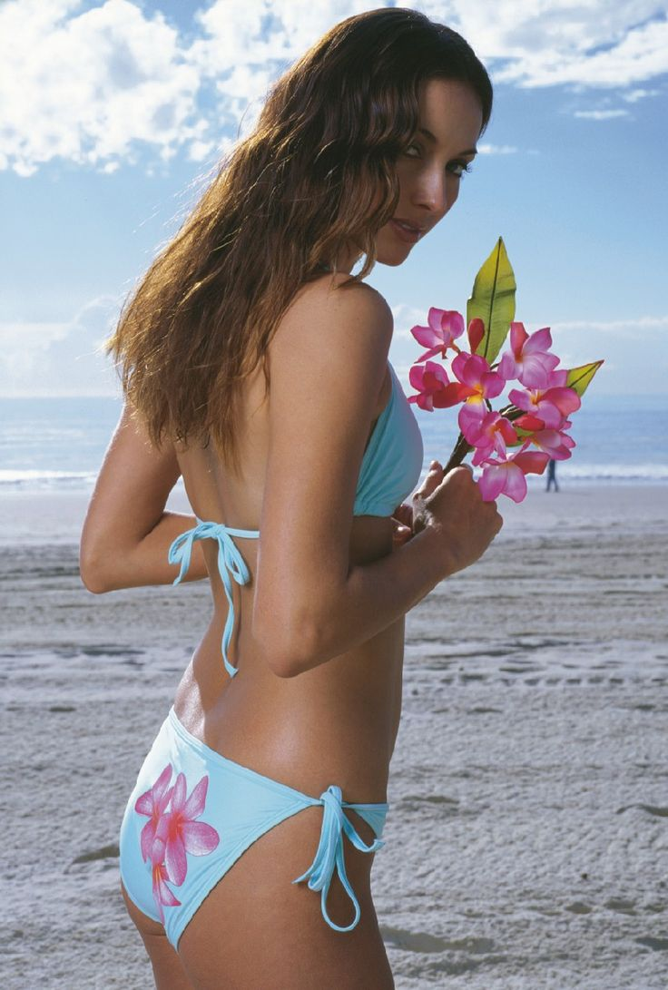 Vintage Finch from the early 00's, still loving our Frangipani print in 'Mint' #FinchSwim #tbt #vintage #swimwear #bikini
