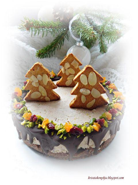 Kriszta konyhája- Sütni,főzni bárki tud!: Gesztenyekrém torta ( paleo )