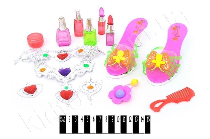 Набір біжутерії зі взуттям (кульок) 7088, детский магазин украина, игры бесплатно скачать, товары для новорожденных, магазин игрушек сказка киев, развивающие игры онлайн, игрушки для девочек цена