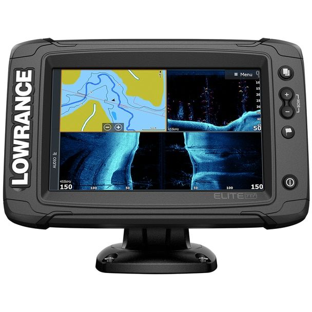 Lowrance Elite 7 Ti Combo W Active Imaging 3 In 1 Transom Mount Transducer Us Inland Chart 000 14638 001 Transducer Fish Finder Wireless Networking