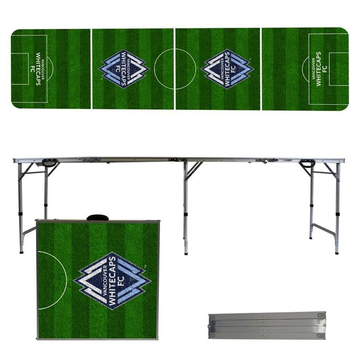 Vancouver Whitecaps FC Soccer Field Folding Table