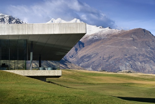 The Michael Hill Clubhouse by Patterson Associates