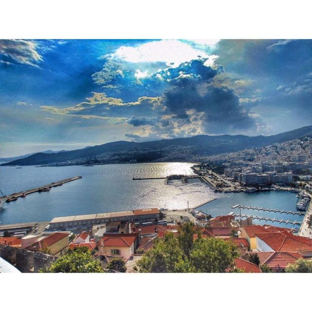 View from the castle, Kavala, Greece