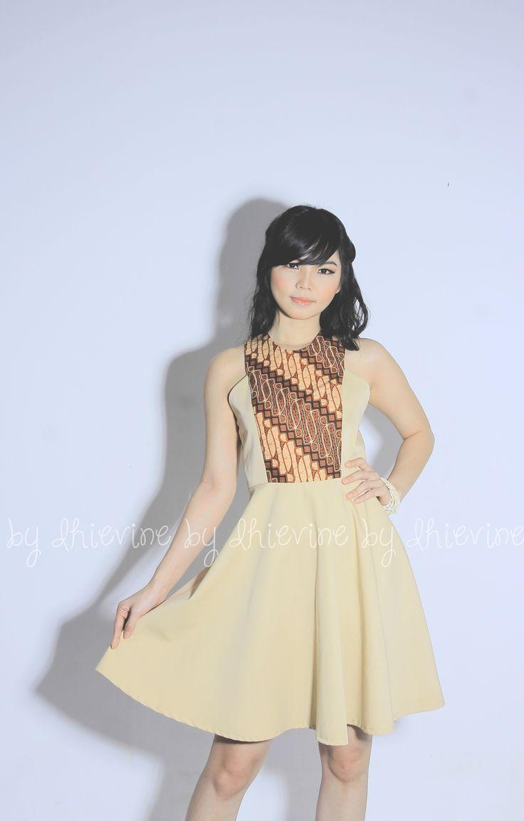 Dewari Batik Parang Dress | DhieVine | Redefine You