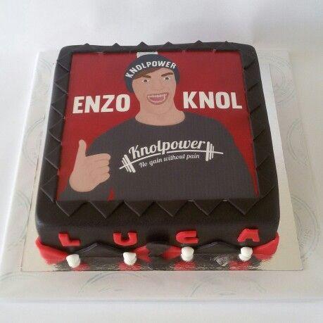 Enzo Knol taart