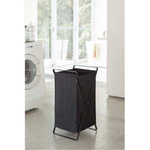 Yamazaki Home 2485 14 2 X 11 8 In Tower Laundry Basket Black