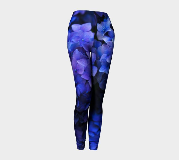 "Leggings+""Hortensia""+by+Mixed+Imagery"