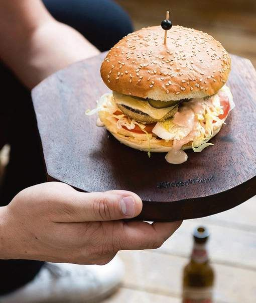 Veggie cheeseburger met Jeroens burgersaus - HLN.be