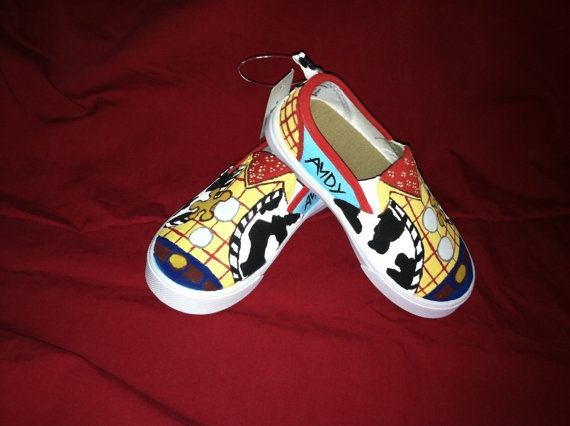 Sheriff Woody Shoes. I WANT these!