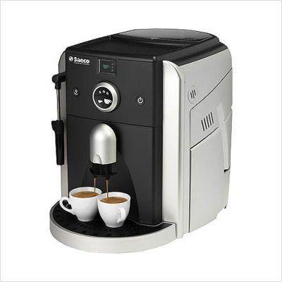 Saeco Espresso Italiano Super Automatic Espresso Machine - Silver