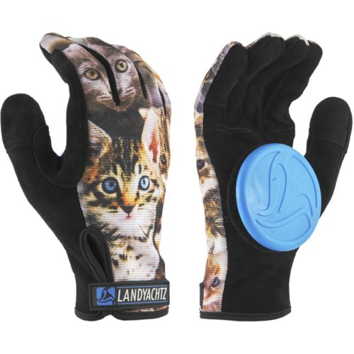 Landyachtz Cat Slide Gloves + Palm Pucks