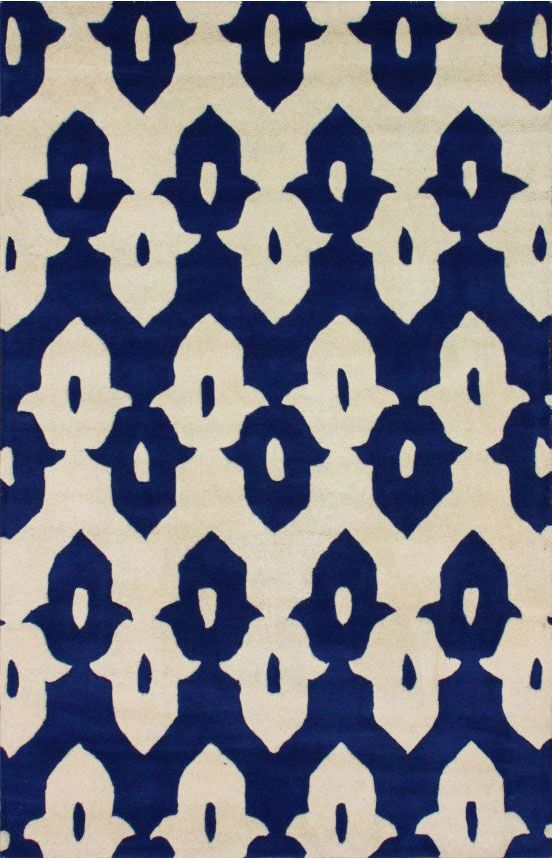 Tuscan Palace Ikat Trellis Royal Blue Rug   Rugs USA   Comes In So Many  Great Colors!