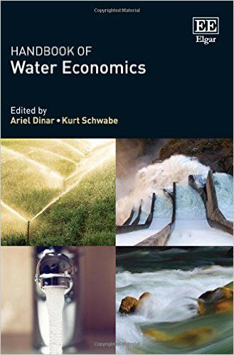 Handbook of Water Economics (EBOOK) http://www.elgaronline.com/view/9781782549642.xml Water scarcity, whether in the quality or quantity dimension, afflicts most countries. Decisions on water management and allocation over time, space, and among uses and users involve economic considerations. This Handbook assembles research that represents recent thinking and applications in water economics.