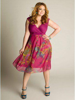 Long summer dresses for larger ladies