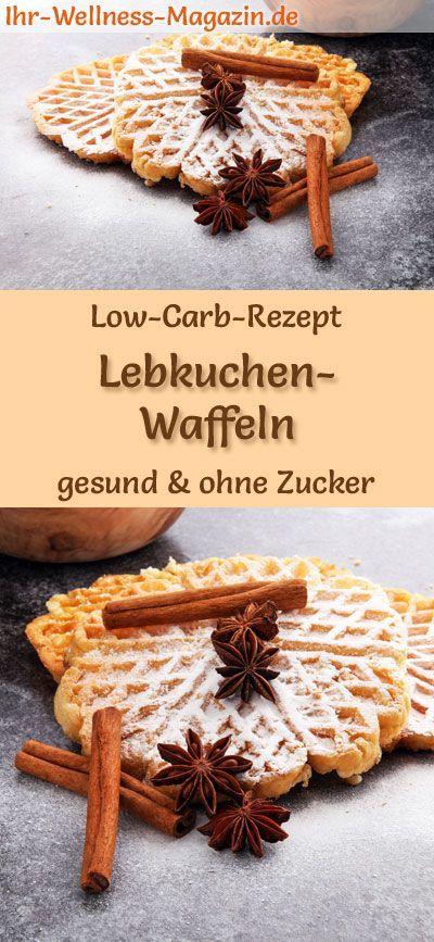 Low Carb Lebkuchen-Waffeln – süßes Waffel-Rezept