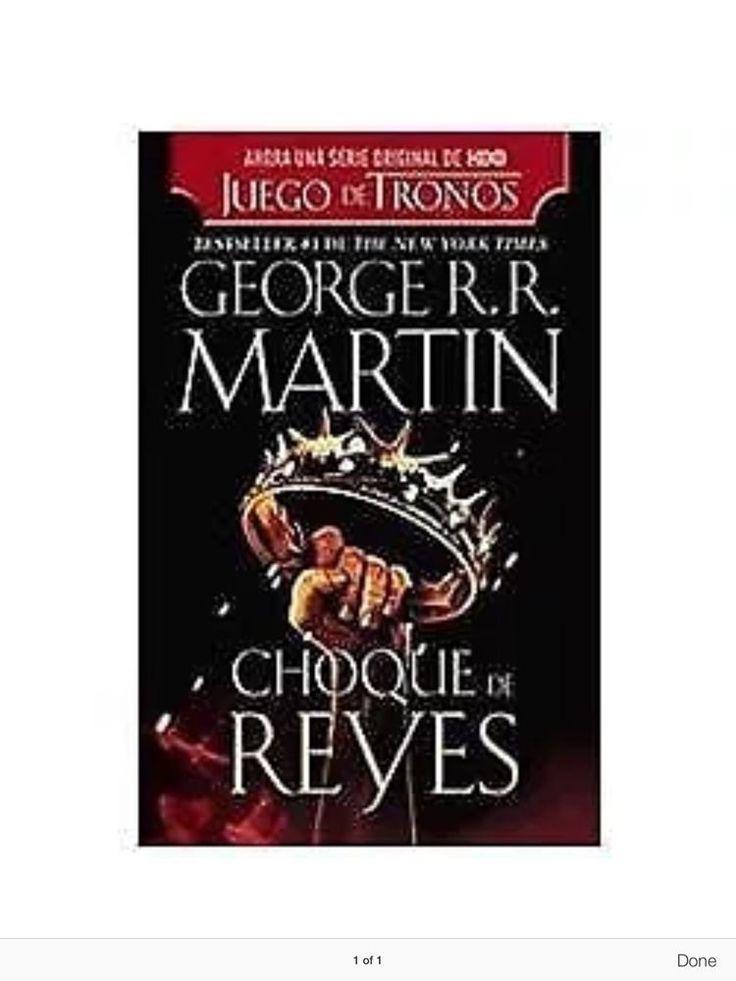 Choque de Reyes Paperback Spanish Edition 0307951197   eBay