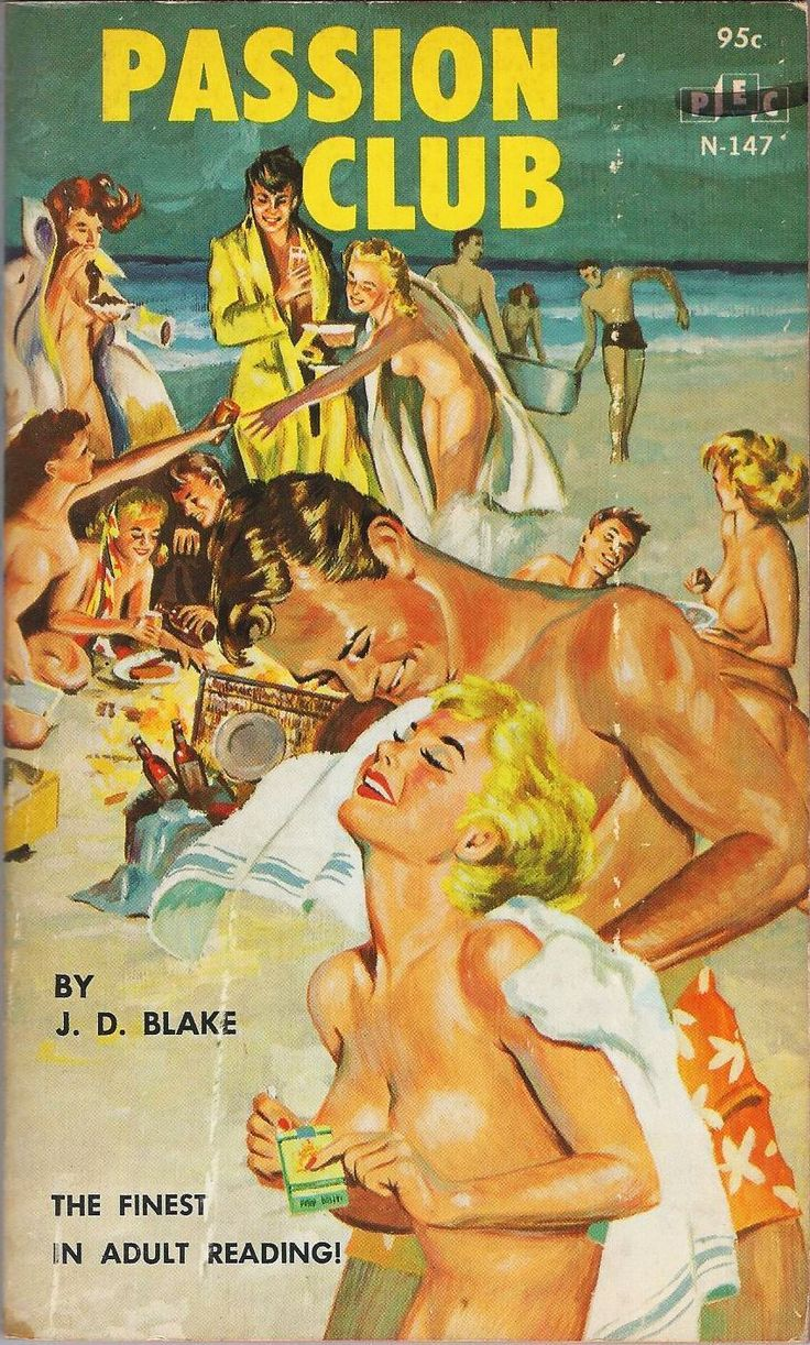 PASSION CLUB #pulp #cover #art