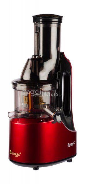 Estrattore di succo da frutta e verdura - BPA Free - 60 giri al minuto - Puoi inserire la frutta e la verdura intera