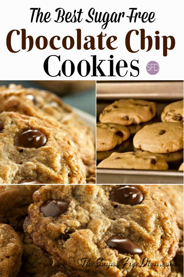 I Am All Over This The Best Sugar Free Chocolate Chip Cookies Yum Yum Rec Sugar Free Chocolate Chip Cookies Sugar Free Cookies Sugar Free Chocolate Chips