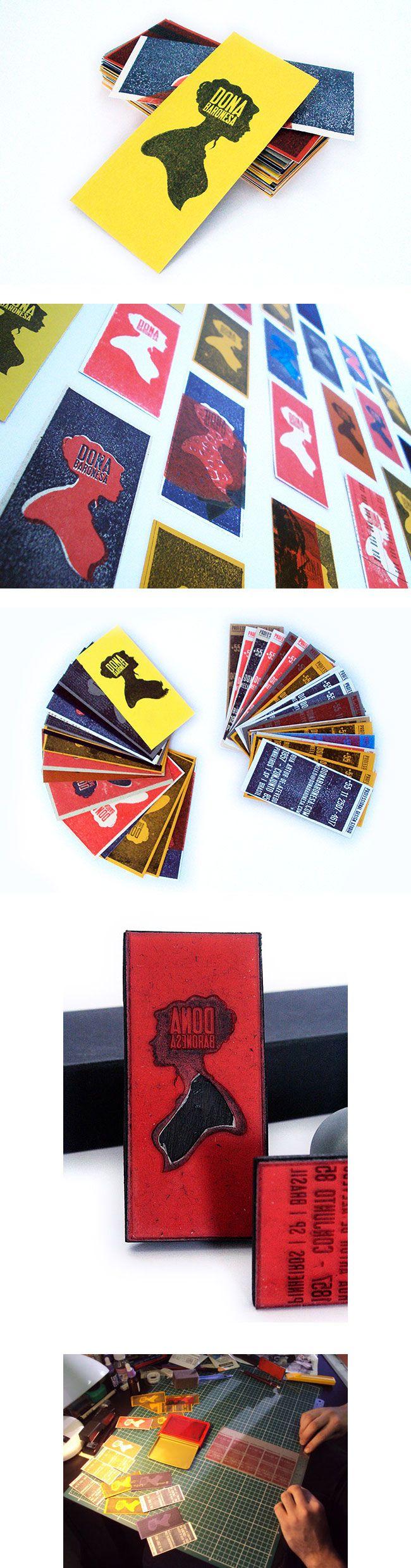 Inspiração: cartões de visita - Choco la Design | Choco la Design | Design é como chocolate, deixa tudo mais gostoso.