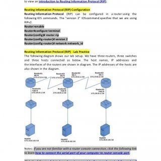 How to Configure Routing Information Protocol (RIP)?If you are not familiar with Routing Information Protocol (RIP), click the following linkto view an intr. http://slidehot.com/resources/how-to-configure-routing-information-protocol-rip.26760/