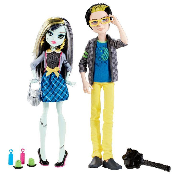Monster high picnic casket doll 2 pack frankie stein - Monster high jackson ...