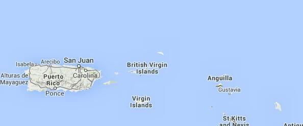 Britische Jungferninseln (BVI) Flottillensegeln Reiseverlauf und Karten   Sunsail Deutschland