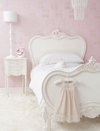 Create a vintage French boudoir
