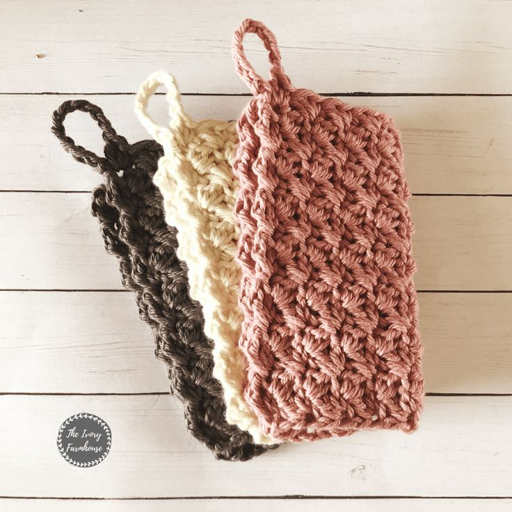 Free Crochet Farmhouse Dishcloth Pattern