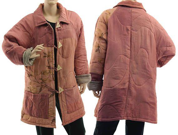 Boho silk jacket in dusty pink lightweight dusty pink