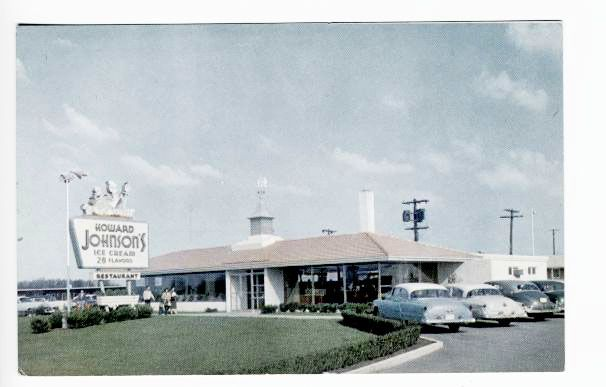Hagerstown, MD Howard Johnson's 1950s | Classic US ...