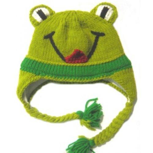 Frog Kid's Hat