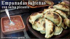 Empanadas salteñas con salsa picante