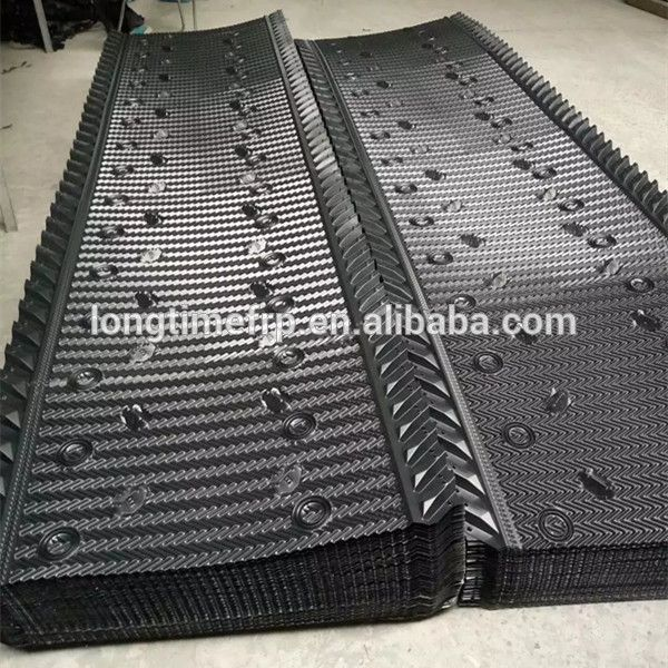 915mm 1220mm Any Length Hanging Type Cooling Tower Fill Cross