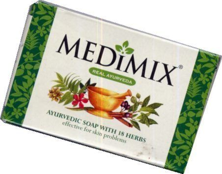 Medimix Ayurvedic Soap 4.4oz Large (Case of 12) by Medimix. $15.95. Medimix is a traditionally hand made soap with a unique formulation of 18 herbs that acts gently but effectively on many kinds of skin problems.