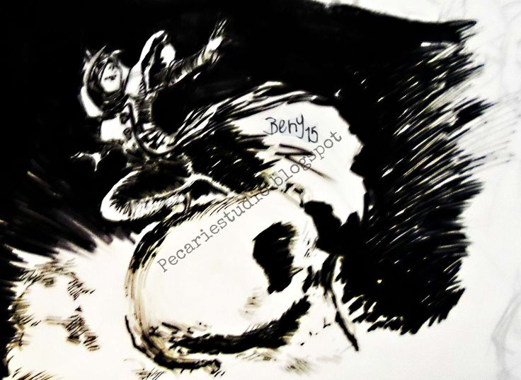 #Blancoynegro #Arte #Ilustracion #dibujo #CarlosBenitez