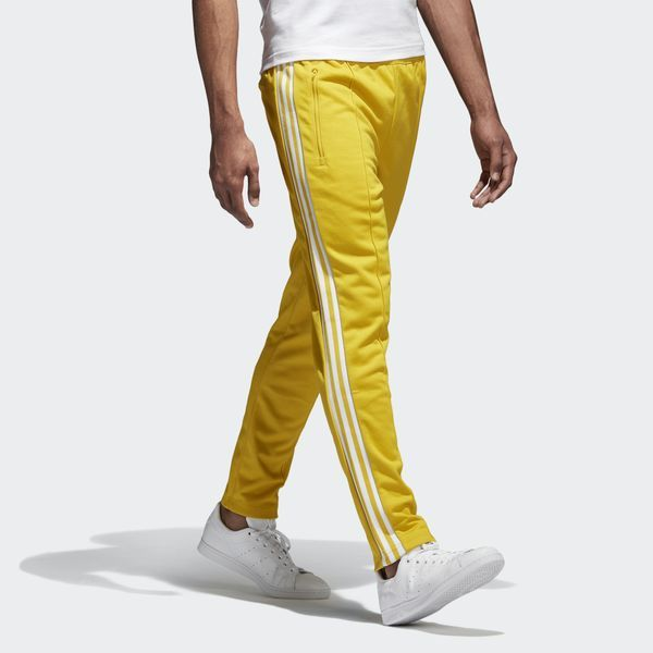 adidas BB Track Pants - Yellow  bc12615380