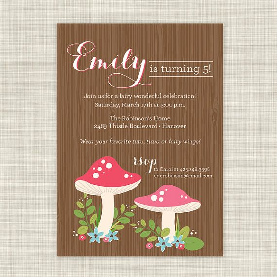 25 best ideas about Fairy Party Invitations – Fairy Birthday Party Invitations