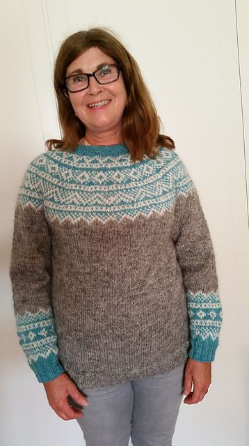 Ravelry: Project Gallery for Galdhöpiggen pattern by Erika Guselius
