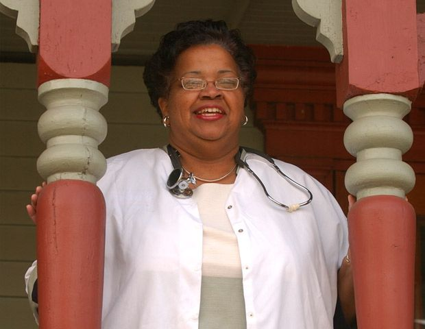 Ada M. Fisher is a retired physician from Salisbury, North Carolina, a life member of the NAACP, and a lifelong Republican. Fisher is the Republican National Committeewoman for the state of North Carolina.