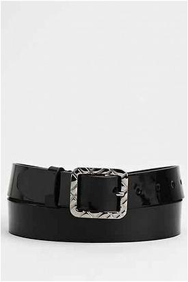 Brand New Burberry Patent Leather Belt - Enviius