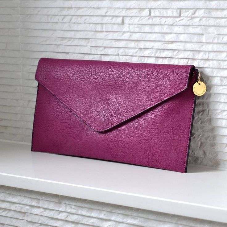 Personalised Clutch Bag - I don't really like the idea of clutch bags (surely annoying to only have one hand free at any one time?) but I just love the colour of this one