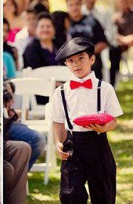Rockabilly Wedding Flowers | Children In Your Wedding: Rockabilly Wedding    Even The Ring Bearer