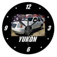 2014 Yukon Denali Large Clock