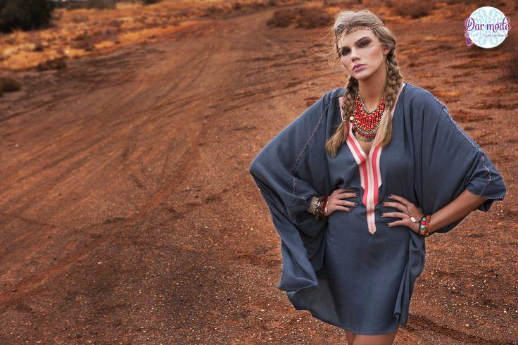 Tunic Saloua・Out of Africa lookbook