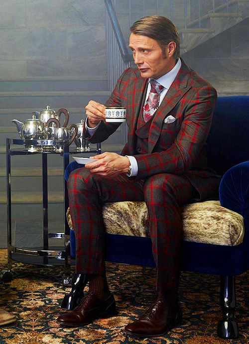 Mads Mikkelsen in Hannibal promo