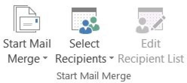Challenge Yourself with Intermediate Skills in Office 2013 or Office 365: Mail Merge